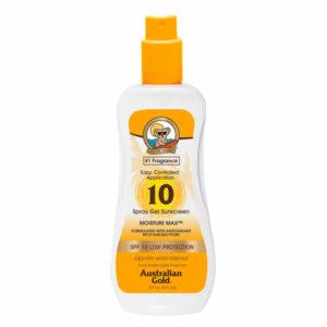 Australian Gold Spray Gel SPF 10