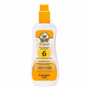 Australian Gold Spray Gel SPF 6