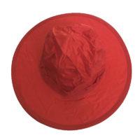 Pop Up Rain Hat - Kids - Red
