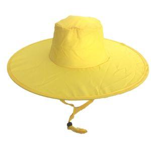 Pop Up Sun Hat Yellow