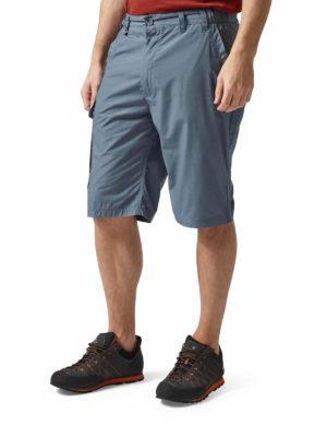 CMJ228 Craghoppers NosiDefence Kiwi Shorts - Ocean Blue - Front