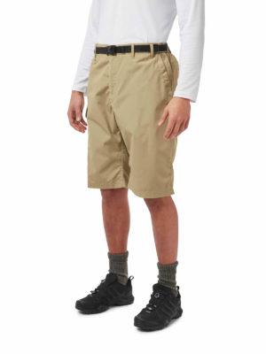CMJ228 Craghoppers NosiDefence Kiwi Shorts - Raffia - Front