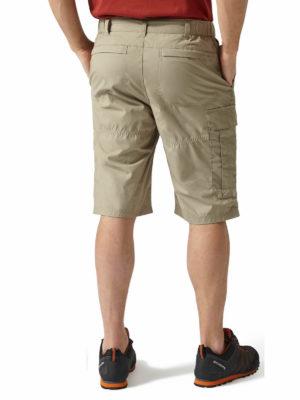 CMJ228 Craghoppers NosiDefence Kiwi Shorts - Rubble - Back