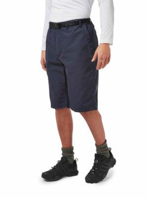 CMJ228 Craghoppers NosiDefence Kiwi Shorts - Steel Blue - Front