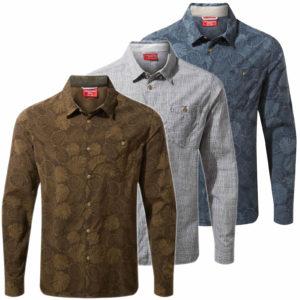 CMS641 Craghoppers NosiLife Lester Shirt