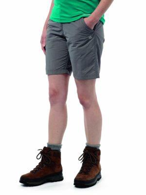 CWJ1112 Craghoppers NosiLife Shorts - Platinum - Front