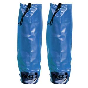 Feetz Pocket Wellies - Blue - Back