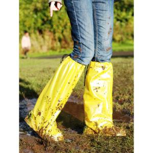 Feetz Pocket Wellies - Yellow