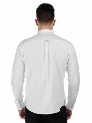 RMS090 Regatta Benas Shirt - White - Back