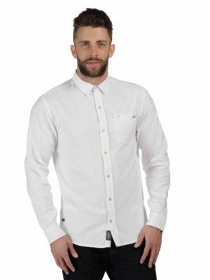 RMS090 Regatta Benas Shirt - White - Front