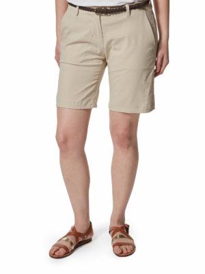 CWJ1114/CWJ1229 - Craghoppers Fleurie Shorts - Desert Sand - Front