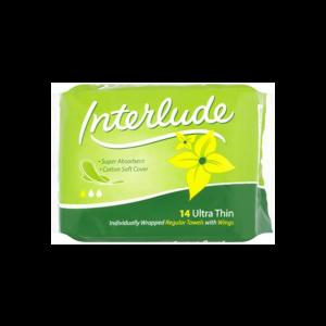 Interlude Sanitary Towels