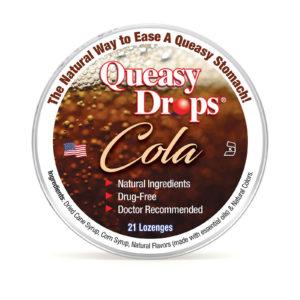 Natural Cola Queasy Drops