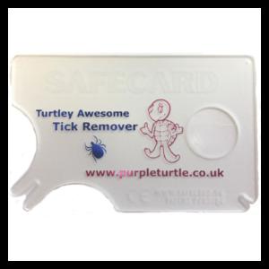 Purple Turtle Tick Card