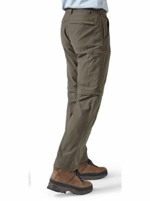 CMJ459 Craghoppers NosiDefence Trek Convertible Trousers - Bark - Back