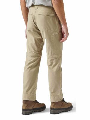 CMJ459 Craghoppers NosiDefence Trek Convertible Trousers - Rubble - Back