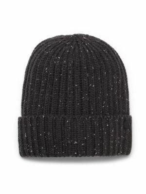 Craghoppers CUC347 Brice Knit Hat - Black Pepper