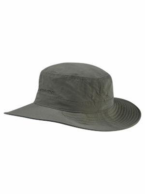CUC344 Craghoppers NosilIfe Sun Hat Dark Khaki