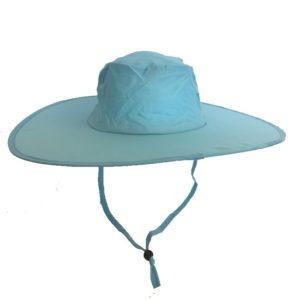 Pop Up Sun Hats Aqua