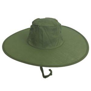 Pop Up Sun Hats Dark Green