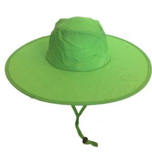 Pop Up Sun Hat Green