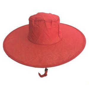 Pop Up Sun Hats Red