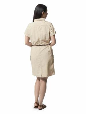CWD010 Craghoppers NosiLife Savannah Dress - Desert Sand - Back