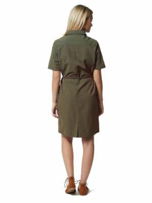 CWD010 Craghoppers NosiLife Savannah Dress - Mid Khaki - Back