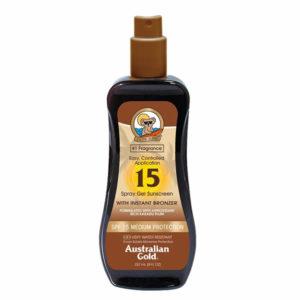 Australian Gold Spray Gel Bronzer SPF15