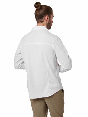 CMS598 Craghoppers Mens Nuoro Shirt - Optic White - Back