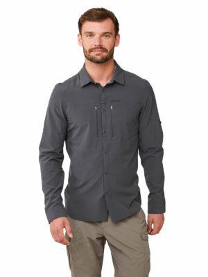 CMS603 Craghoppers Mens Pro Stretch Shirt - Ombre Blue