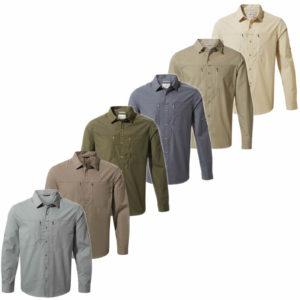 CMS612 Craghoppers NosiDefence Mens Kiwi Boulder Shirt