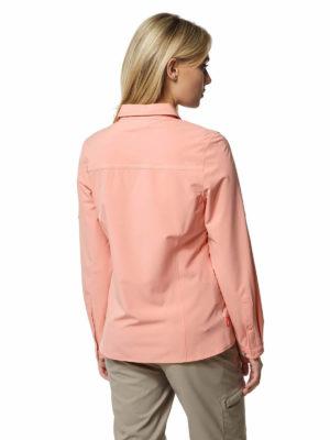 CWS480 Craghoppers NosiLife Ladies Pro II Shirt - Rosette - Back