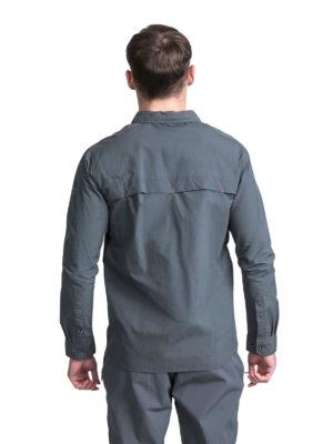 Trespass Moskitophobia Mens Darnet Shirt - Carbon - Back