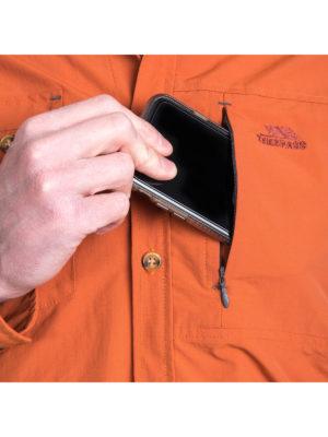 Trespass Moskitophobia Mens Darnet Shirt - Security Pocket