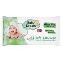 Baby Dream Aloe Vera Soft Baby Wipes