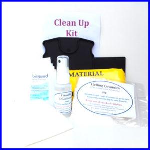 Body Fluid Spill Kit with PLASTIC Scraper