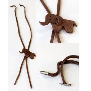 Detachable elephant neck cord