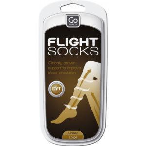 Design Go Travel Flight Support Socks