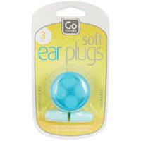 Design Go Travel Soft Ear Plugs - 3 Pack (Ref 427)