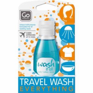 Design Go 'Wash It All' Travel Wash