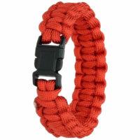 Highlander Paracord Bracelet Red