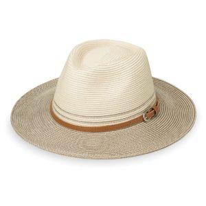 Wallaroo Ladies Kristy Hat - Ivory/Stone