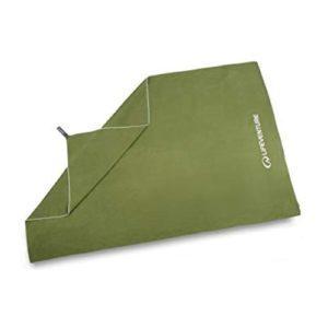 LifeVenture Compact Trek Towel - Green