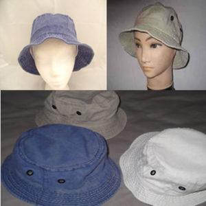 Pre-washed Denim Sun Hat