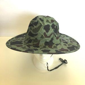 Pop Up Rain Hat Camo