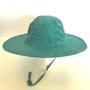 Pop Up Rain Hat Green