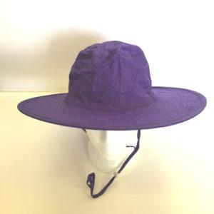 Pop Up Rain Hat Purple