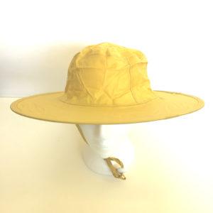 Pop Up Rain Hat Yellow