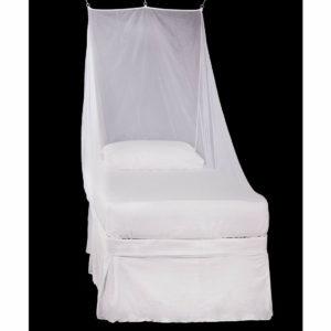 Pyramid Premium Mosquito Net (Single Wedge) - White